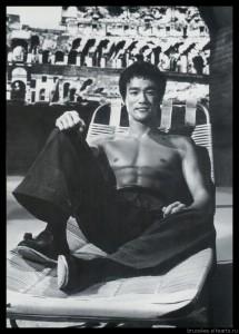 Брюс Ли, фото из фильма Путь дракона 00017