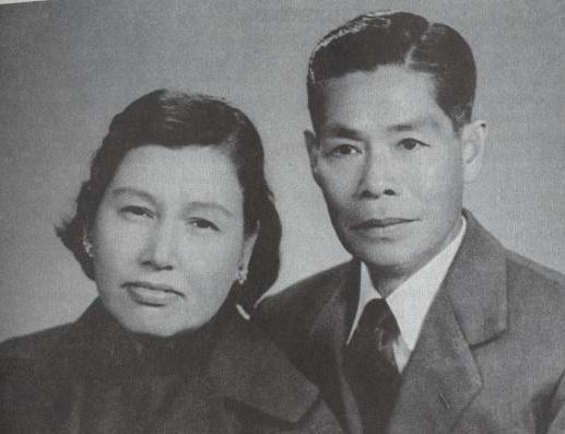 Ли Хой Чен и его жена, Грейс Ли