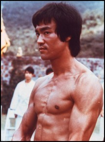"""**FILE** Bruce Lee is shown in a scene from the 1973 film, """"Enter the Dragon,"""" completed shortly before the martial arts stars' death of brain edema in 1973. China has honored movie stars Bruce Lee, Jackie Chan and Chow Yun-Fat in a commemorative stamp collection marking 100 years of Chinese cinema. (AP Photo/HO, FILE)"""