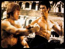 WALLPAPER BRUCE LEE & CHUCK NORRIS