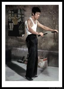 Брюс Ли, фото из фильма Путь дракона 00132