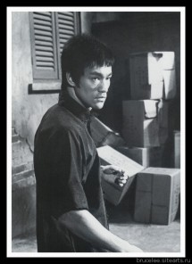 Брюс Ли, фото из фильма Путь дракона 00142